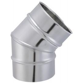 Coude Segment Tyral Inox 45° D139Mm