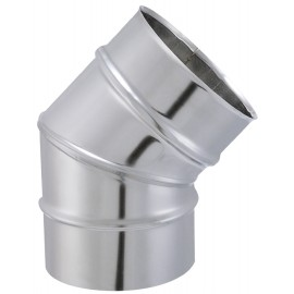 Coude Segment Tyral Inox 45° D180Mm