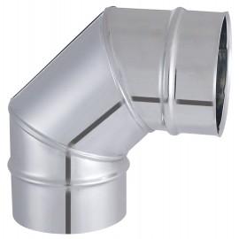 Coude Segment Tyral Inox 90° D180Mm