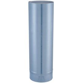 Elément Droit Aluminie D125Mm L50Cm