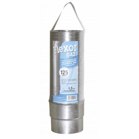 Flexible Gaz Alu Conduit Flexible Flexor  D139/146Mm L1.5M