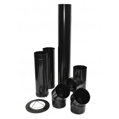 Kit Raccord Buse Email Noir 0.7 D150Mm