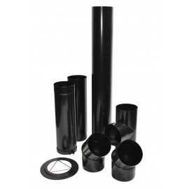 Kit Raccord Buse Email Noir 0.7 D180Mm