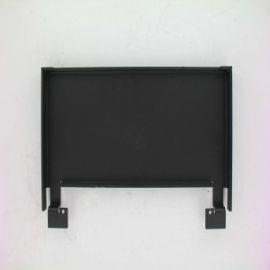 Plaque D'Atre Tole Artis Noire SUPRA
