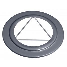 Rosace Gris 2mm Diamètre 150