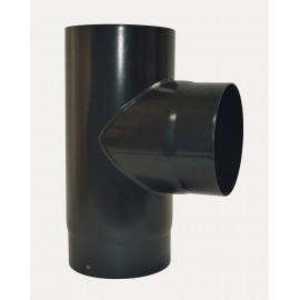 Te 90° + Tampon Noir 2mm Diamètre 150