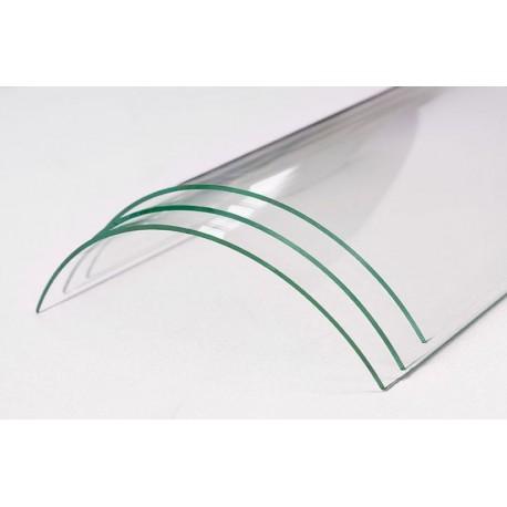 Verre vitrocéramique courbe pour insert et poele à bois de la marque SKANTHERM - Ator
