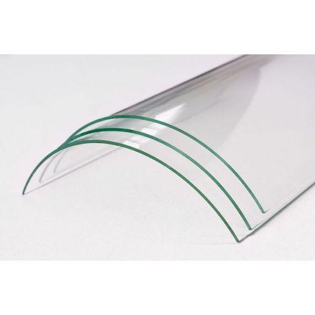 verre vitroc ramique courbe pour insert et poele bois d 39 un rayon ext rieur de 630 ersho. Black Bedroom Furniture Sets. Home Design Ideas