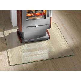 Plaque de sol en verre rectangulaire 1100 x 700mm