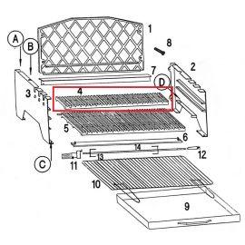 Petite grille pour barbecue Invicta Alexandrie - Ref F706805P