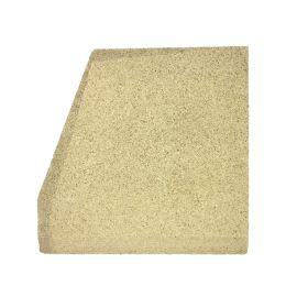 Brique Gauche - Vermiculite pour poele à bois Deville