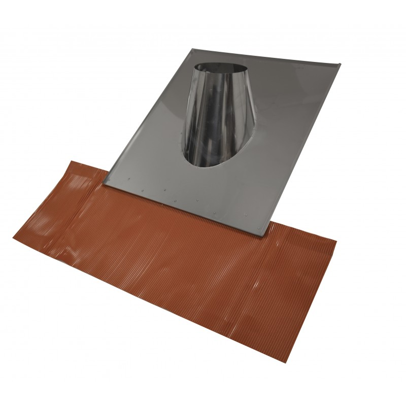 solin tuile sortie cylindrique pour po le pellets isotip. Black Bedroom Furniture Sets. Home Design Ideas