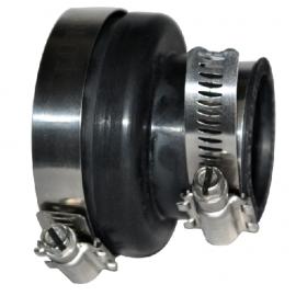 Adaptateur prise d'air EPDM diamètre 60 femelle * diamètre 40 femelle