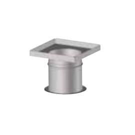 Plaque plénum étanche réglable 200 à 350 mm