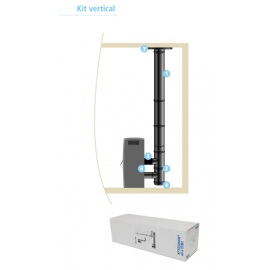 Kit raccordement étanche vertical