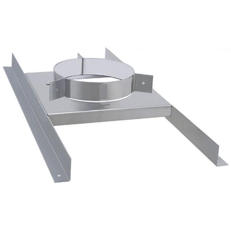 support plancher accessoire de po le pellets double paroi isol isotip joncoux distribu par. Black Bedroom Furniture Sets. Home Design Ideas