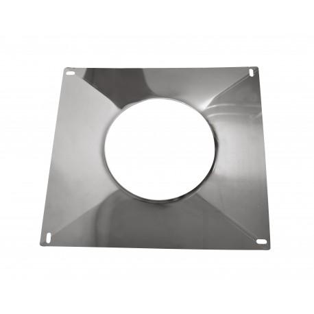Plaque d'étanchéité avec bord relevé 350*350 mm