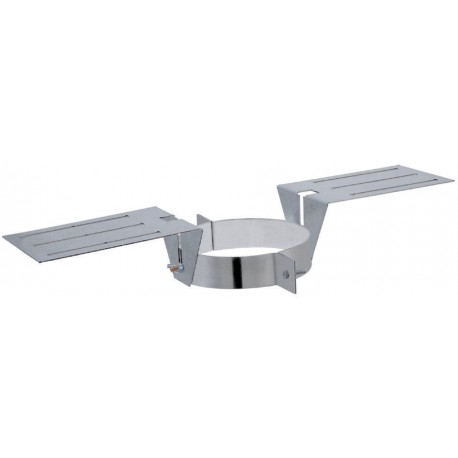 Support au toit poêle à pellets double paroi isolé