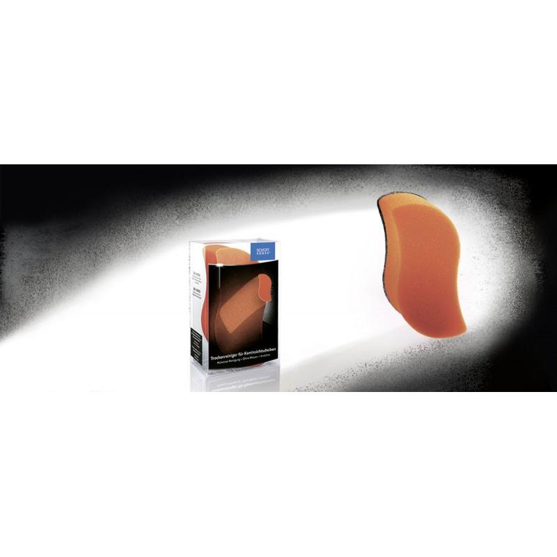Eponge schott robax dry wiper pour nettoyer les vitres d 39 inserts de chemin es ersho distribution - Vitrage pour insert cheminee ...
