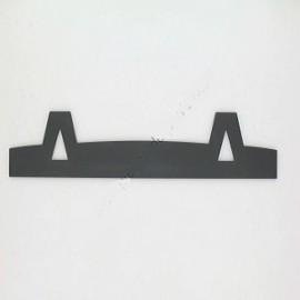 Chenet tole pb2000 gris - SUPRA Référence 18513PB
