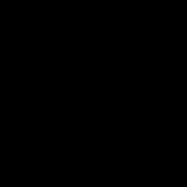 Cache Vis Chrome Noir D.6 - SUPRA