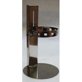 Maintien au sol réglable 15 à 27 cm pour conduit concentrique poêle à granulés de bois