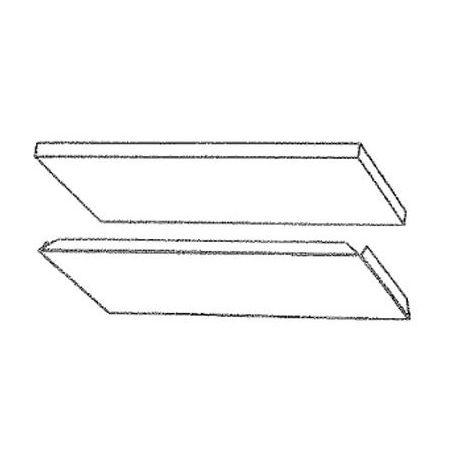Deflecteur Fixe Vitre 152/162Vl - Supra Réf 12270