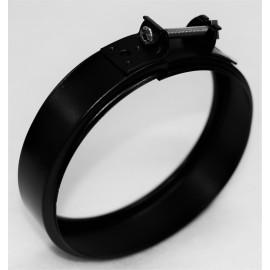 Bride de sécurité concentrique noir mat inox