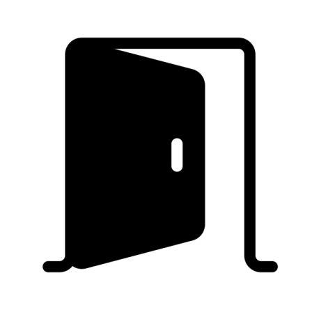 Porte E-M Noir SUPRA