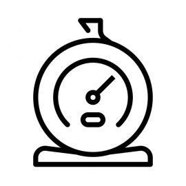 Pyroscope pour poele à bois Deville