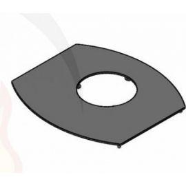 Dessus Habillage E-S Noir SUPRA