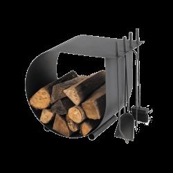 Rangement Bois / Serviteur Caracol - Ref DN-005.10426G7