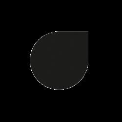 Plaque De Sol Goutte D'Eau Ø120 Cm - Ref DN-017.PSG1N3