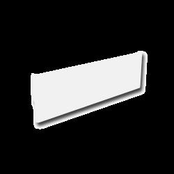 Cache Plinthe Lg. 1206 - Blanc B7 - Ref DN-027.CP1206B7