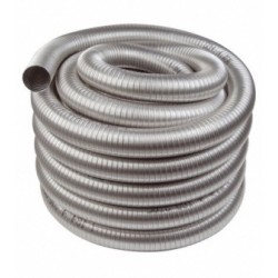 Tubage flexible inox double...