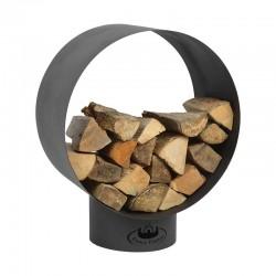 Stockage pour bois, rond