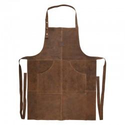 Tablier BBQ en cuir