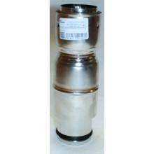 Raccord tuyau poêle dn200 /flexible universel pour plaque de propreté