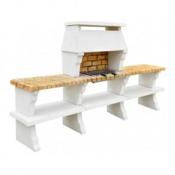 Barbecue Deco Hotte XL + 2 Tables Sur Cote