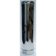 Tuyau 1m concentrique inox 316/304