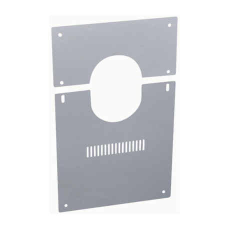Plaque de finition basse for Plaque de finition poele