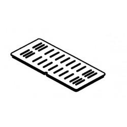 Grille foyère complète droite pour poêle Hase Sendai Pro - référence 207699