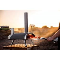 four à pizza portable nomade à pellets au feu de bois ooni fyra