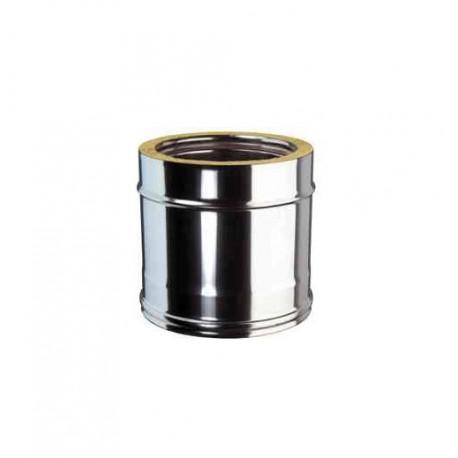 longueur droite m double paroi pour tubage conduit. Black Bedroom Furniture Sets. Home Design Ideas