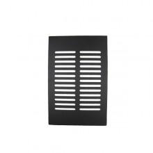 grille de d cendrage noire supra. Black Bedroom Furniture Sets. Home Design Ideas