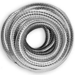 tuyau flexible inox pour poele et conduits de cheminée